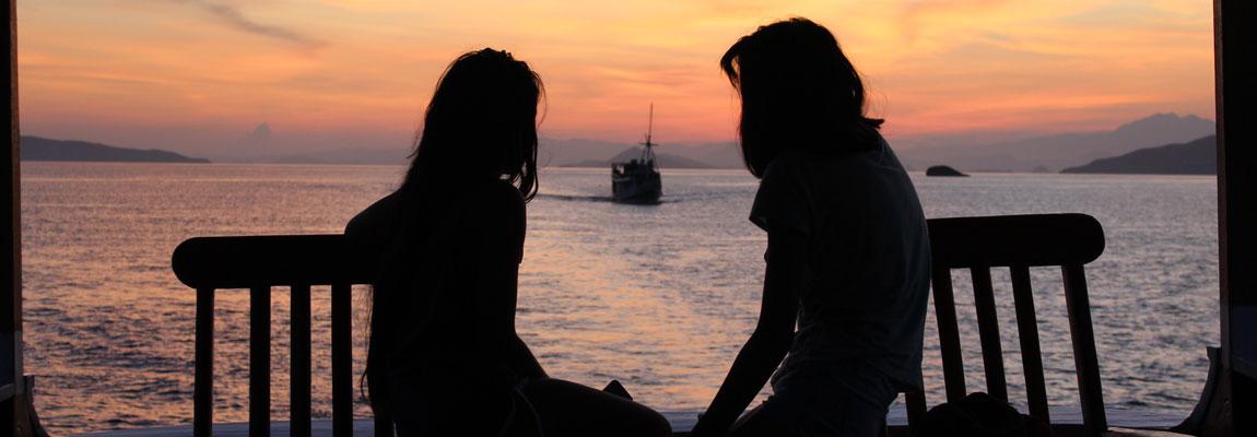 Sunset di Pulau!