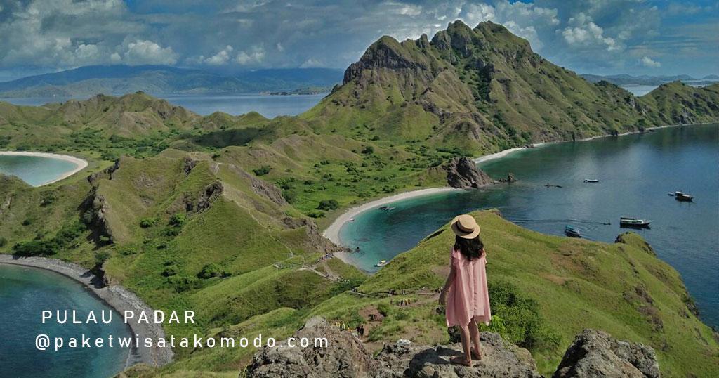 Bukit Pulau Padar - Wisata Komodo Labuhan Bajo