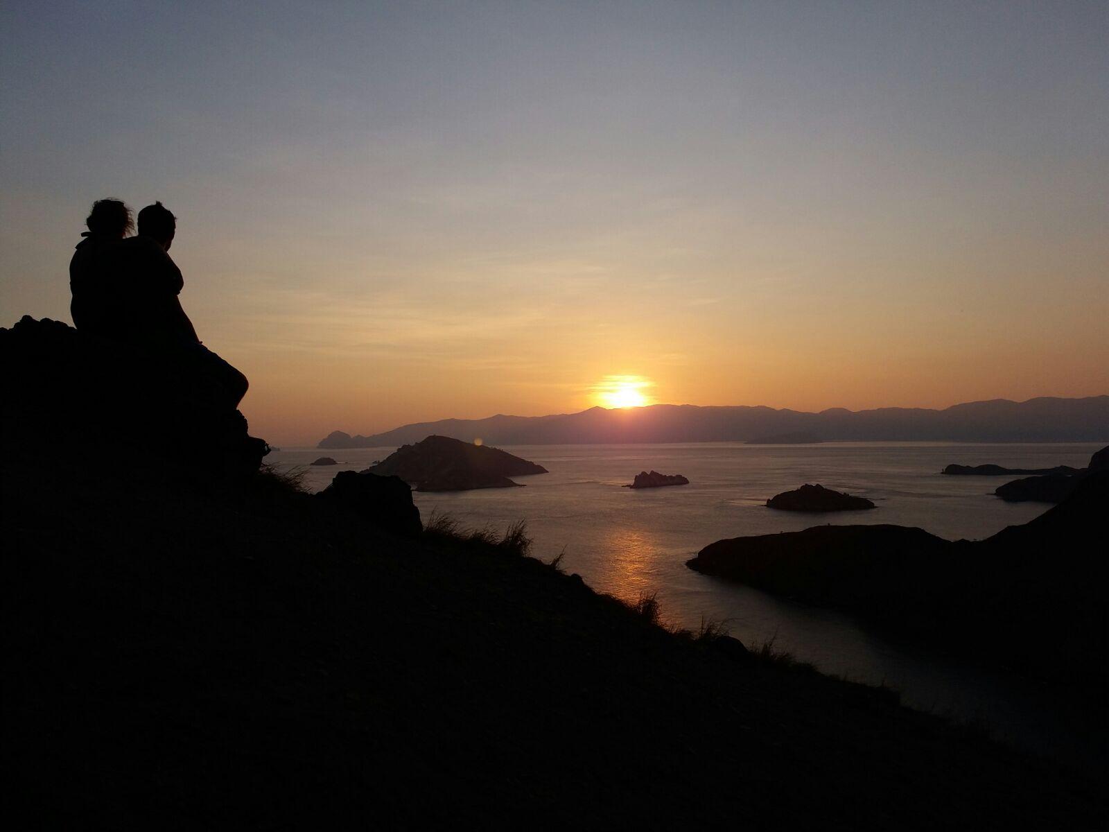 Sunset di kawasan Taman Nasional