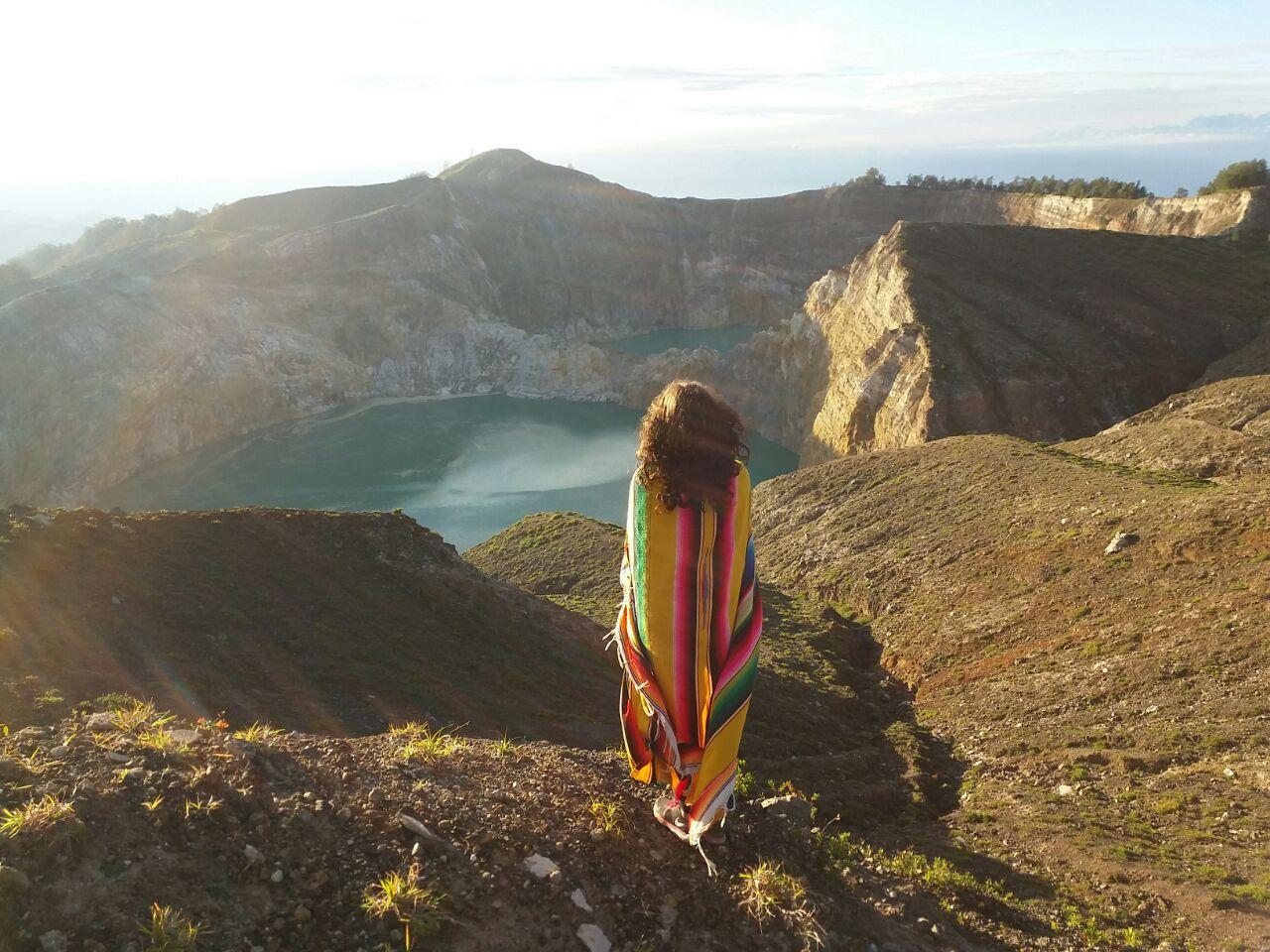 Danau 3 warna Kelimutu