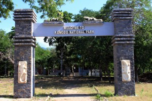 Pintu Masuk Taman Nasional Komodo