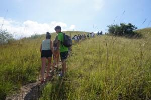 Soft trekking ke bukit Rinca