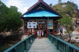 Pintu masuk pulau Rinca